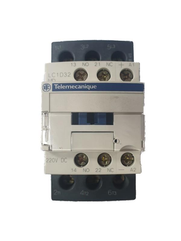 Contactor 15KW/400V Ub=220 V DC LC1D32MD Telemecanique