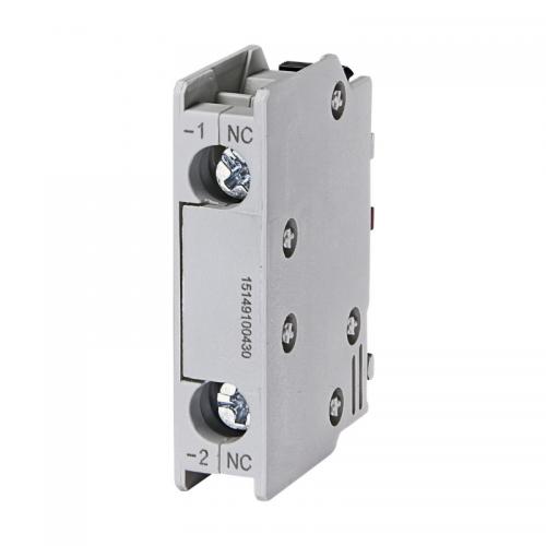 Contact auxiliar 1NC frontal BCXMFE 01 ETI 004641501