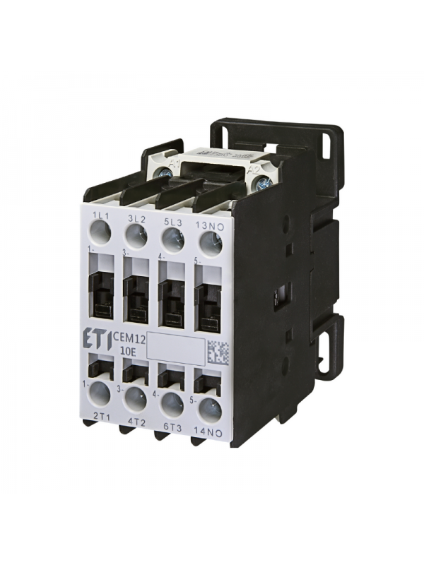 Contactor 5.5kW 4NO CEM12.10-230V ETI 004643123