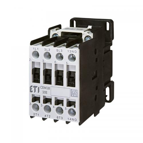 Contactor 7.5kW 4NO CEM18.10-230V ETI 004644123