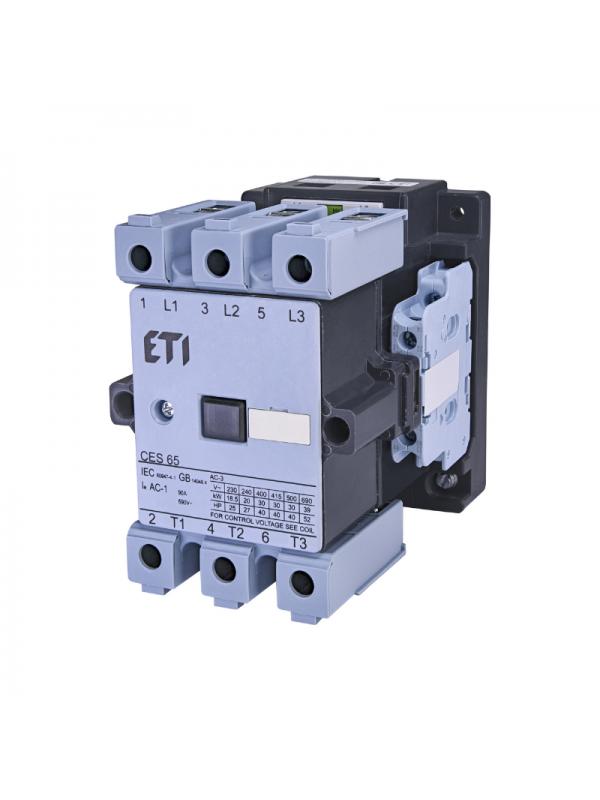 Contactor 30kW/400V CES 65.22-230V ETI 004646560