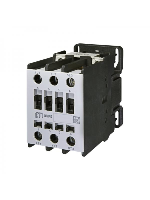Contactor 18.5kW 3NO CEM40.00-230V ETI 004647103