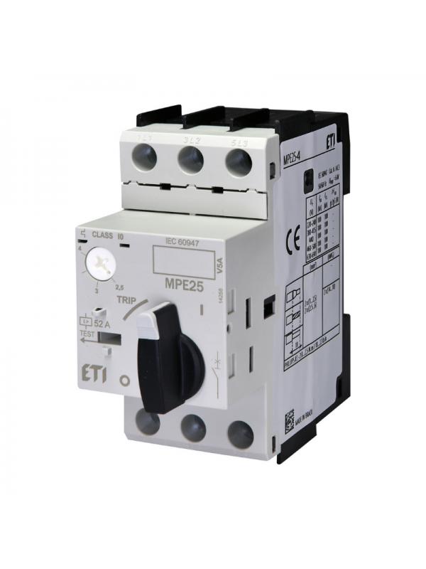 Intreruptor protectii motoare MPE25 2.5-4.0A ETI 004648008