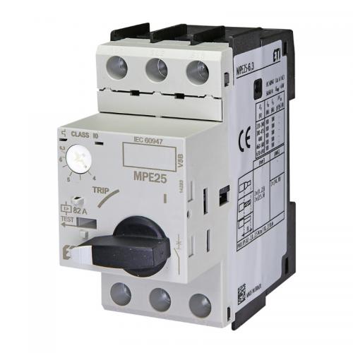 Intreruptor protectii motoare MPE25 4.0-6.3A ETI 004648009