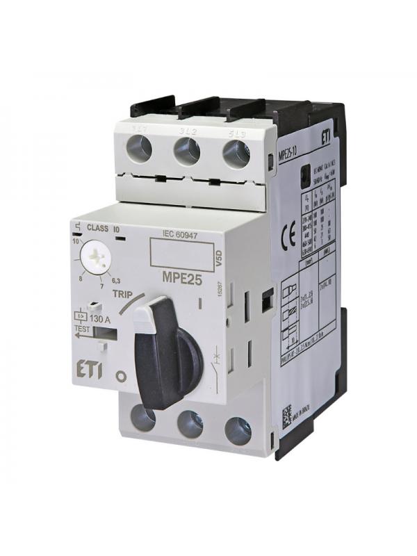 Intreruptor protectii motoare M25 6,3-10A ETI 004648010