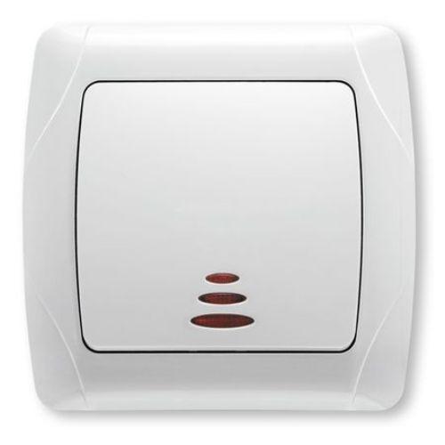 Intrerupator ST cu LED Carmen Viko cod VI-C1L