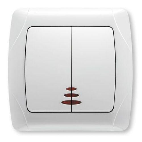 Comutator ST cu LED Carmen Viko cod VI-C2L