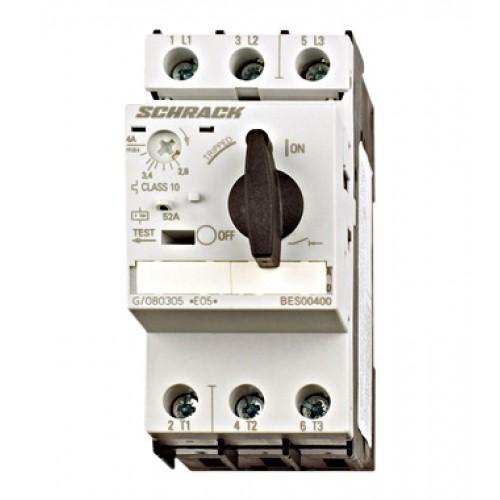 Întreruptor protectii motoare 3p 2,80-4,00A, Schrack cod BES00400