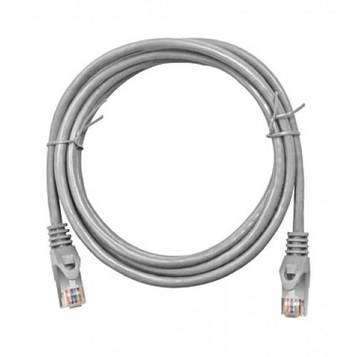 Cablu UTP Patch cord Cat. 5, 10m, gri, Schrack cod H5GLG10K0G